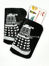 Load image into Gallery viewer, The Harley Online Gallery Shop // Dalek leather card wallet