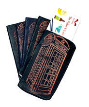 Load image into Gallery viewer, The Harley Gallery Shop ONline // Quirky gift - leather phone box design card wallet
