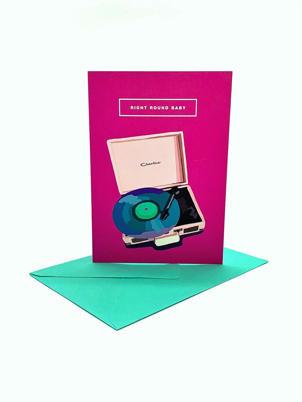 The Harley Gallery Shop Online // Vinyl Record Greeting Card