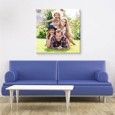 "Eco Photo Box Wallart (24""x24"") (personalised)"