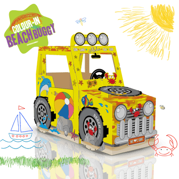 COLOUR-IN BEACH BUGGY