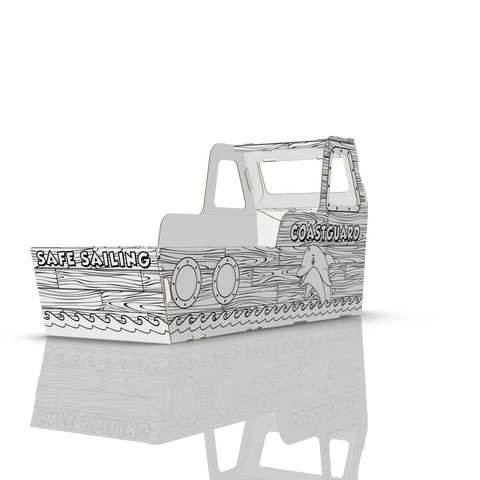 COLOUR-IN BOAT