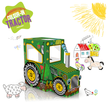 COLOUR-IN TRACTOR