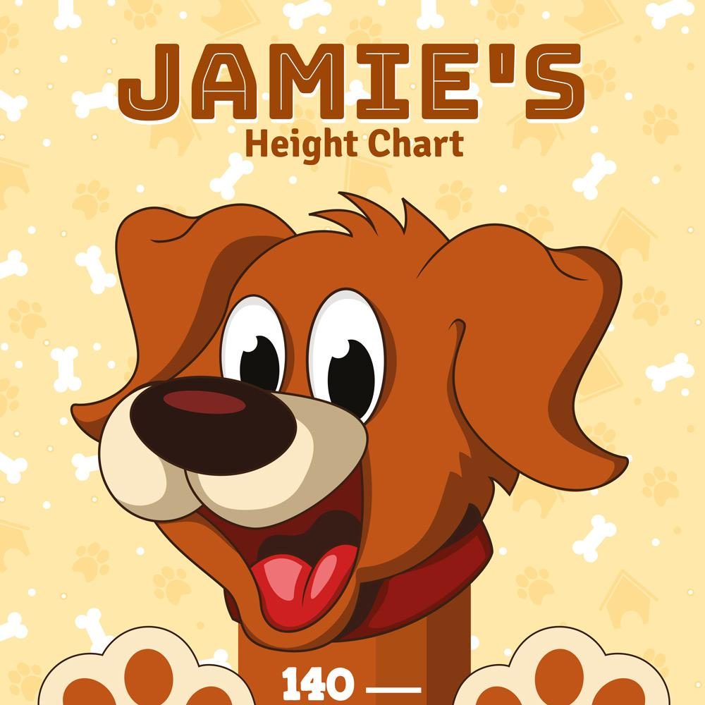 Height Charts (Dogs) (Personalised)