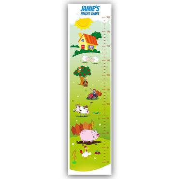 Height Charts (Farm) (Personalised)