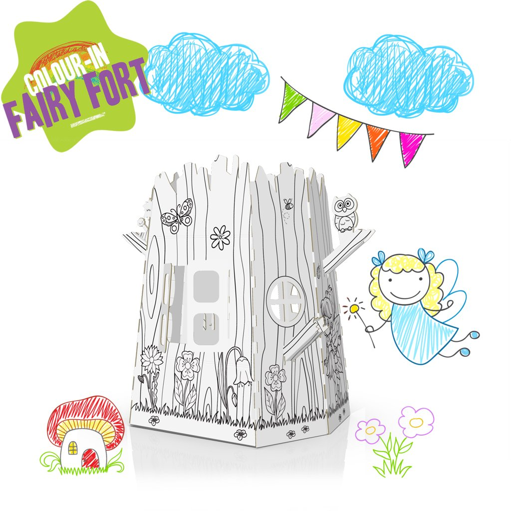 COLOUR-IN FAIRY FORT