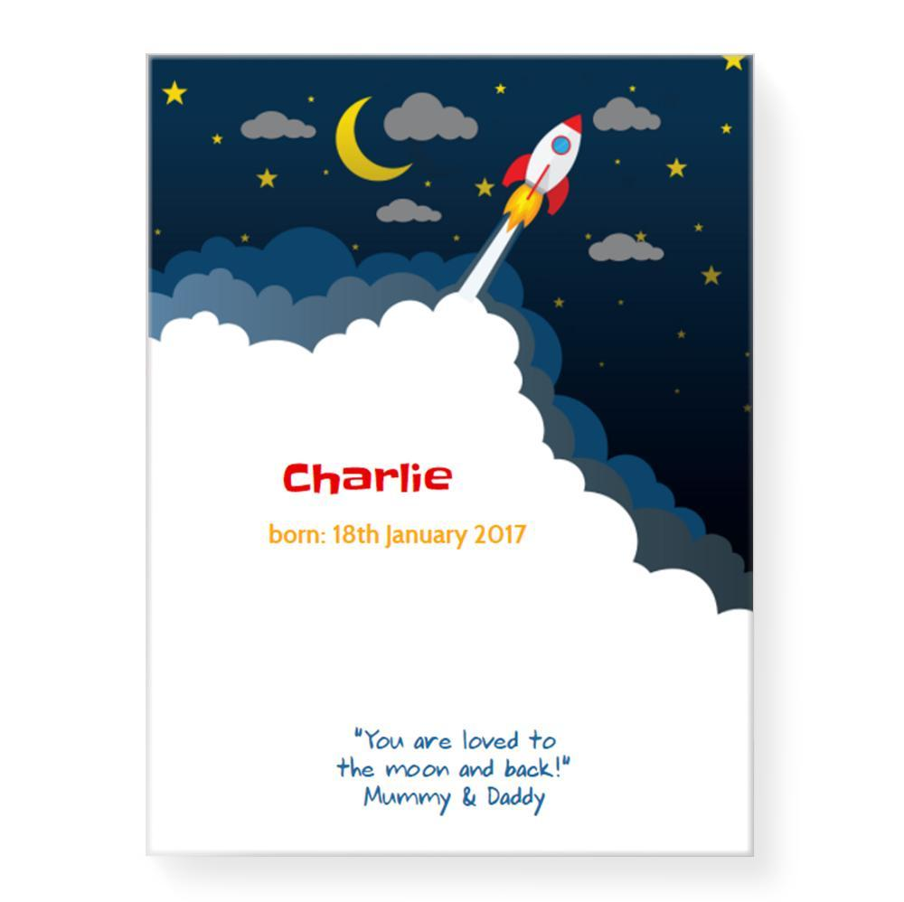 Rocket Launch (Personalised)