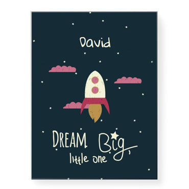 Dream Big Little Rocket (personalised)