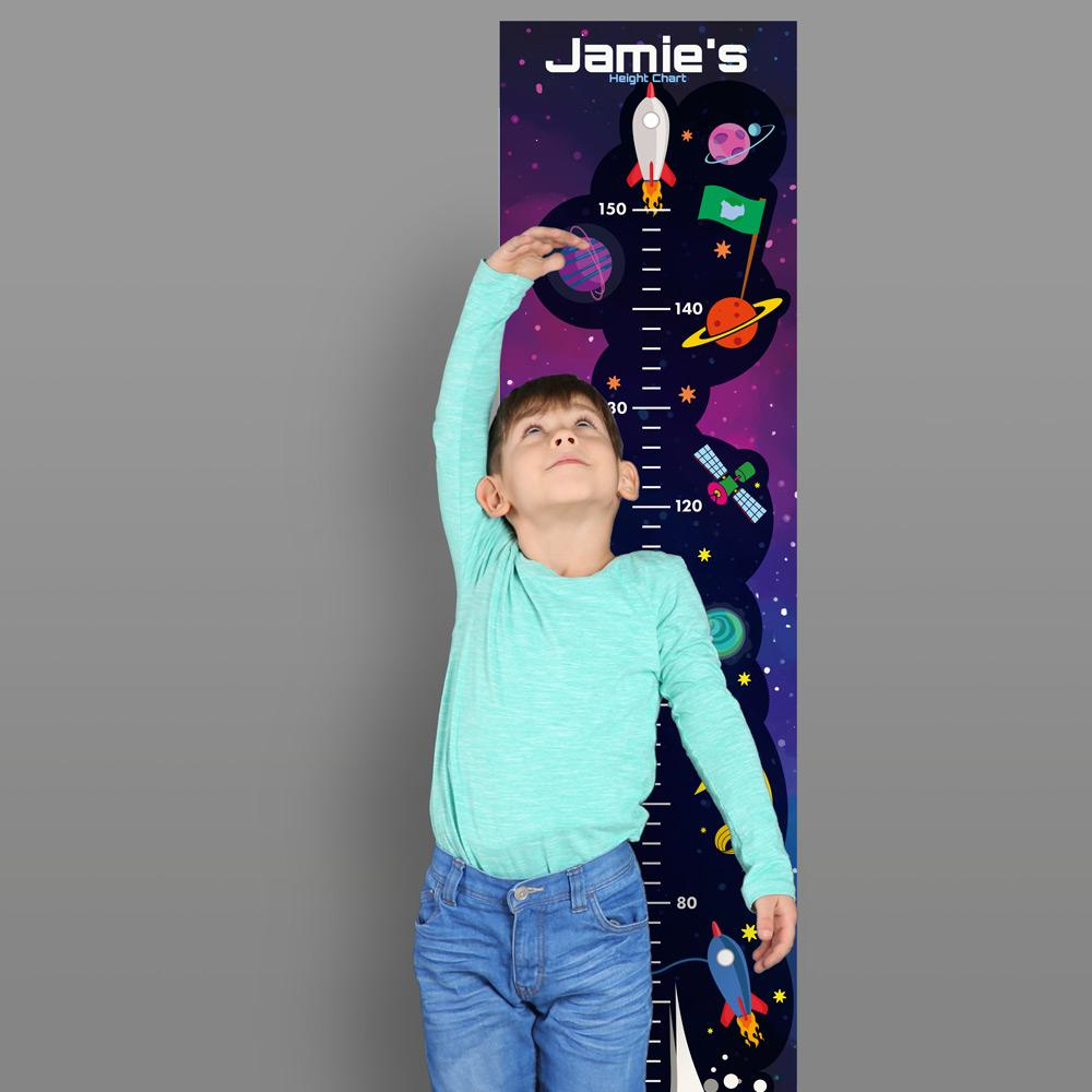 Height Charts (Space) (Personalised)
