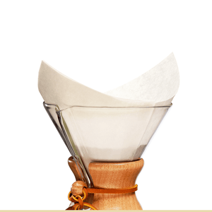 Upload foto in Gallery viewer, Chemex® bonded filters pre-folded squeres