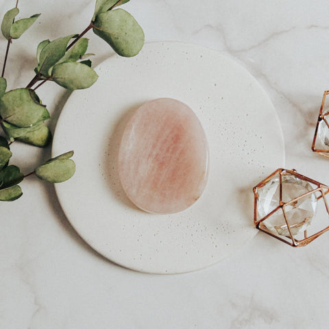 Rose Quartz - Worry Stone