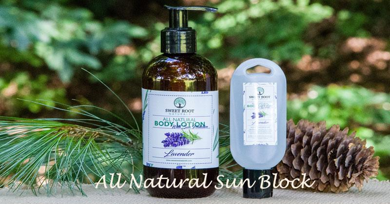 Body Lotion with Sunblock