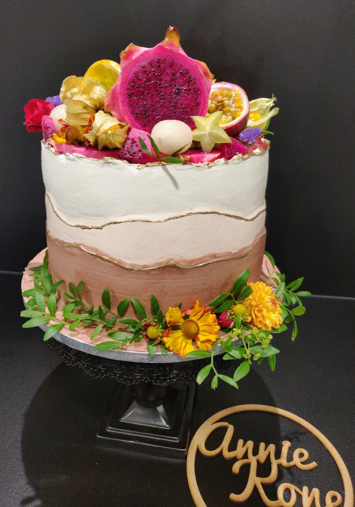 Exotic Beautiful cake