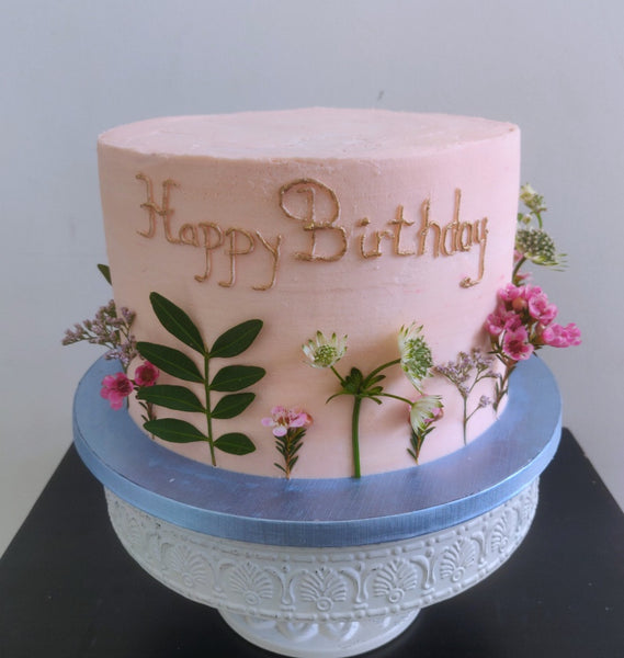 Beautiful Floral layer cake