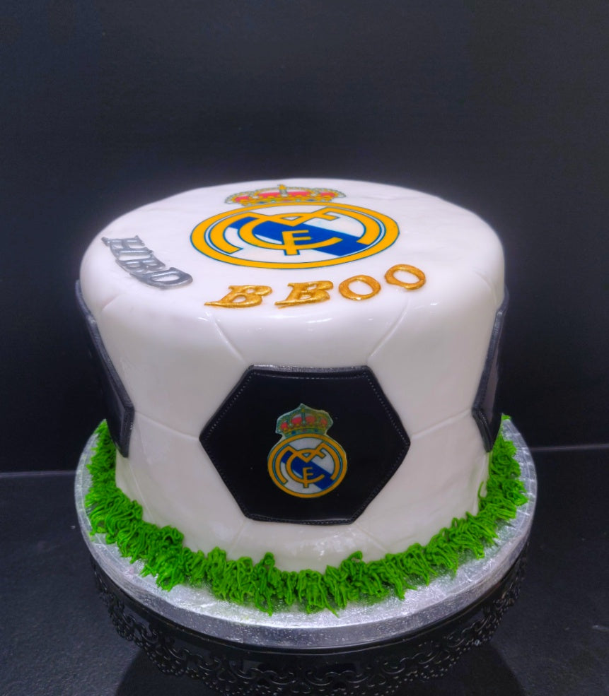 Gâteau de football