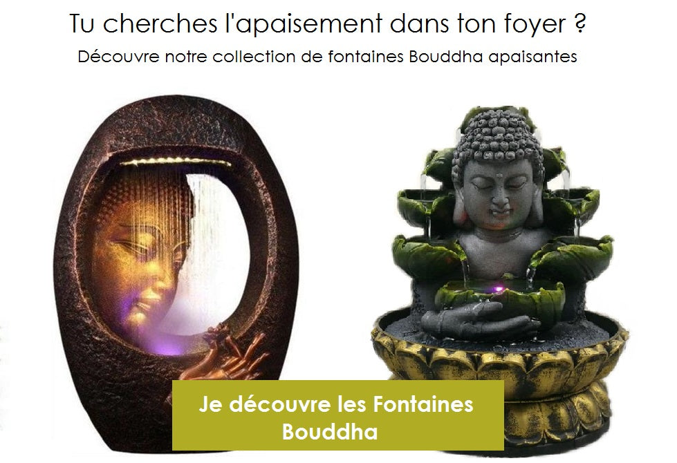 Fontaines Bouddha