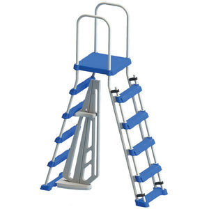 A-Frame Ladder - Blue 5 Steps 87952LSL