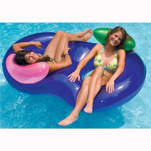 "Swimline 74"" x 46"" Side By Side Double Lounge"