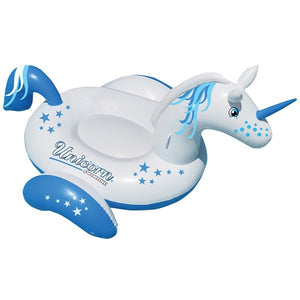 "Swimline 108"" x 73"" Giant Ride-On Unicorn"