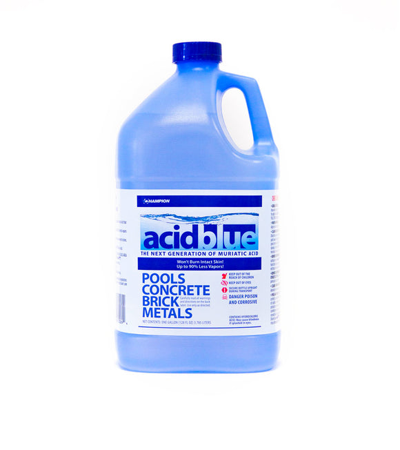 ACIDBLUE LOW FUME MURIATIC ACID 1 GAL. CH520