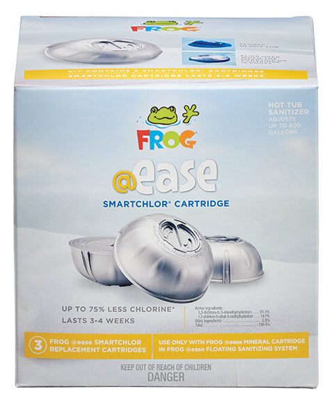 Spa Frog @Ease Floating Smartchlor cartridge 3 pack 01-14-3258