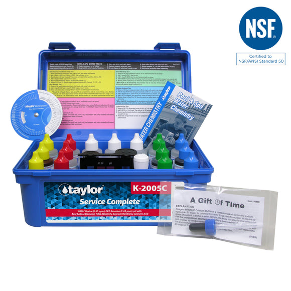 Taylor Professional Complete Test Kit (High Range) 2oz Reagents
