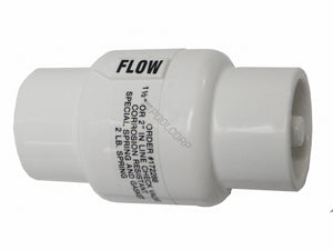 "Pentair Rainbow 1.5"" slip - 2""spg Check Valve"