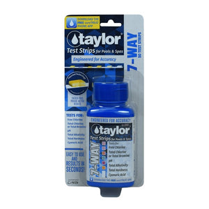 Taylor Technologies Pool 7 Way test strips