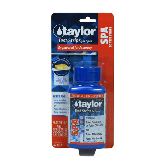 Taylor Technologies Spa test strips