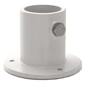 "Top Mount Deck Flange 1.5"" ID with Screw Set – Aluminum PF2115L"