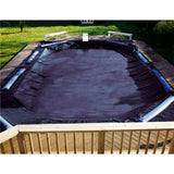 "Deluxe Round Winter Pool Covers  ""GOOD"""