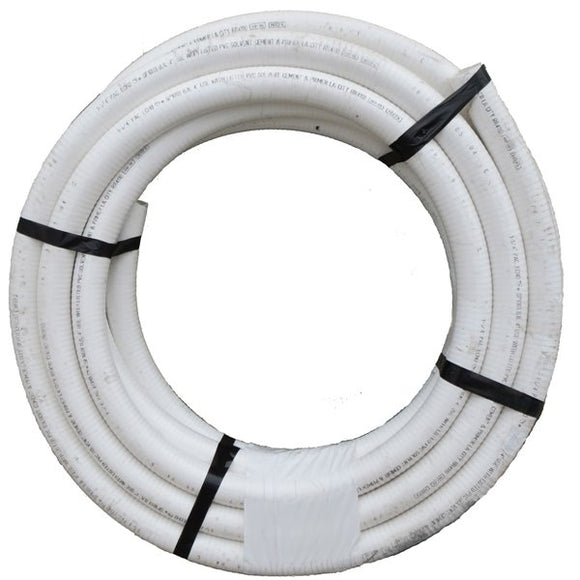 Flex Pipe - PVC White 2