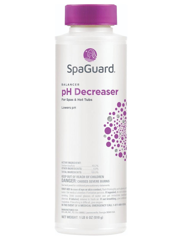 SpaGuard pH Decreaser 22oz.