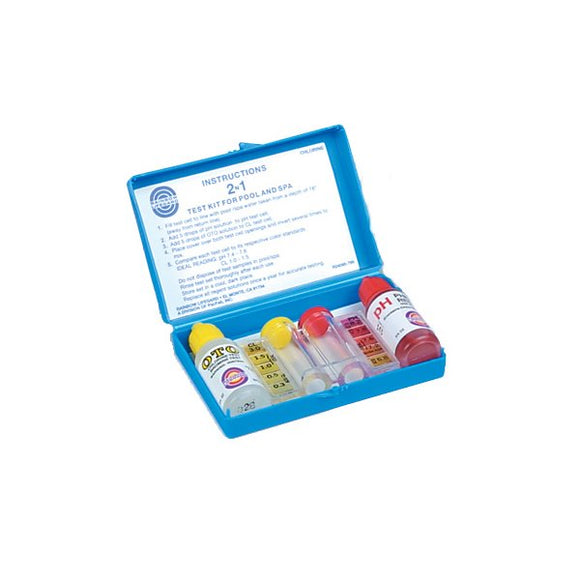 Rainbow Pentair Total Chlorine pH Test Kit