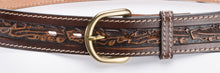 Load image into Gallery viewer, Western Leather Belt