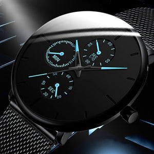 Men Watch 2020 Fashion Business Watches For Men Top Brand Luxury Steel