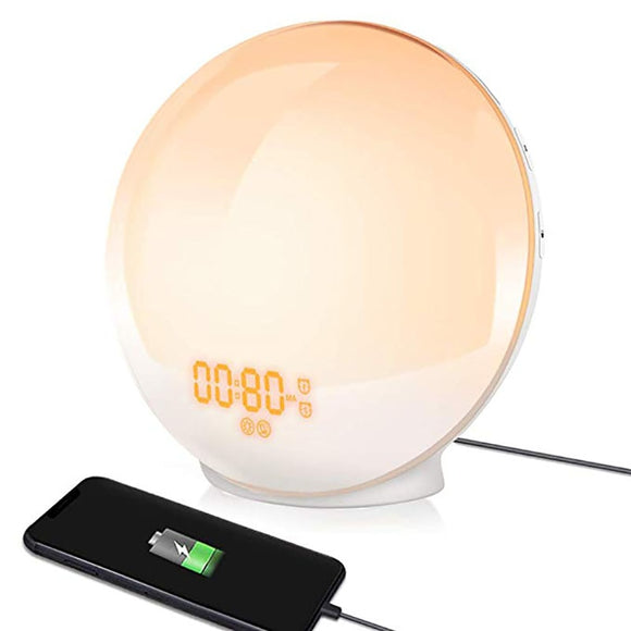 Wake-Up Light Sunrise Simulation Alarm Clock