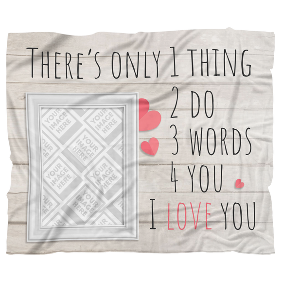 Valentines - Day Personalized Blanket