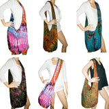 Tie Dye Hobo Sling Shoulder Crossbody Messenger Assorted Lot of 50