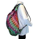 Convertible Tie Dye Messenger Shoulder Purse Backpack