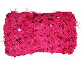 Exotic Sequin Crochet Net Triangle Shawl Wrap Belly Dance Hip Scarf
