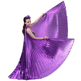 Exotic Colorful Belly Dance Isis Wings Costume Props