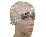 Belly Dance Tribal Tiara Headwear Coined Head Cap