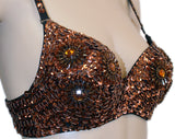 BT014_Floral_Bra_Brown