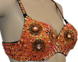 BT014_Floral_Bra_Orange