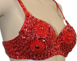 BT014_Floral_Bra_Red