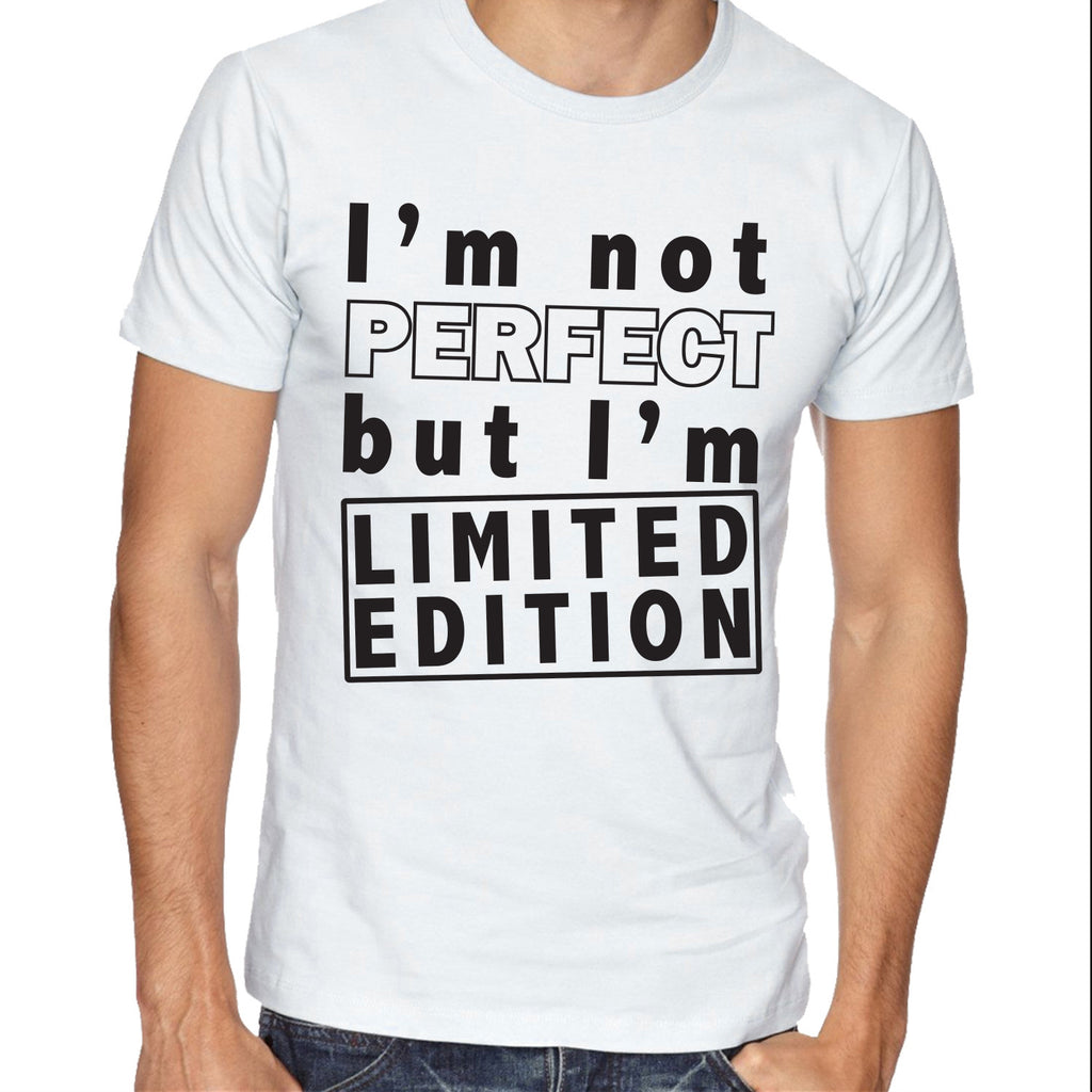 61a22098 Im Not Perfect but I'm Limited Edition T-shirt Funny Shirts – Jon's ...