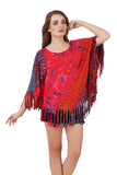 Women's Yoga Poncho Tie Dye Top / Cover Up