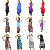 Maxi Dresses Long Lot of 50 (Assorted Styles and Colors)