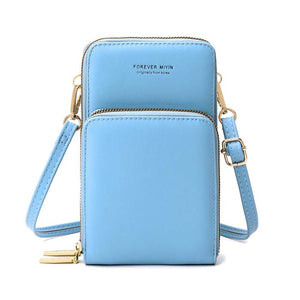 Ladies Touch Screen Purse with 2 Zipper Open Pockets - TouchScreenPurse.online